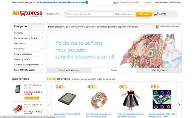 aliexpress tienda online chine