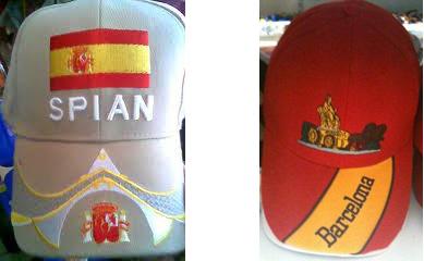 fallos en gorras hechas en china